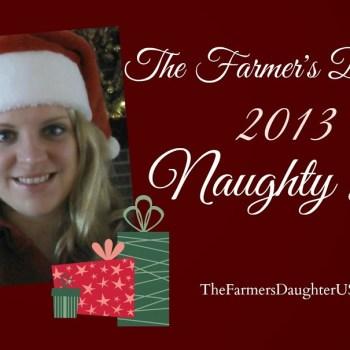 Santa's Naughty List 2013