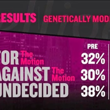 IQ2 Debate on GMOs Wins Over Undecided Viewers