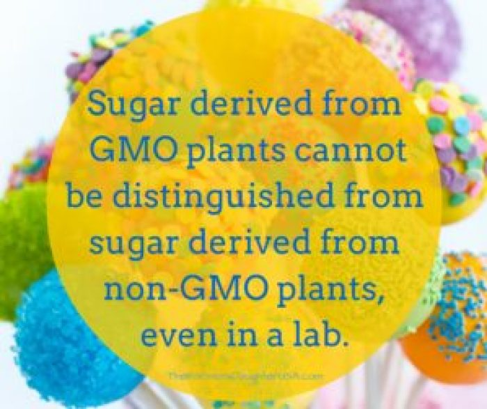 There's no such thing as GMO sugar!