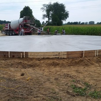 Going Up: Building Our New Grain Bin, Part 1