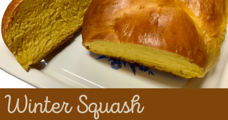 Winter Squash Braided Bread