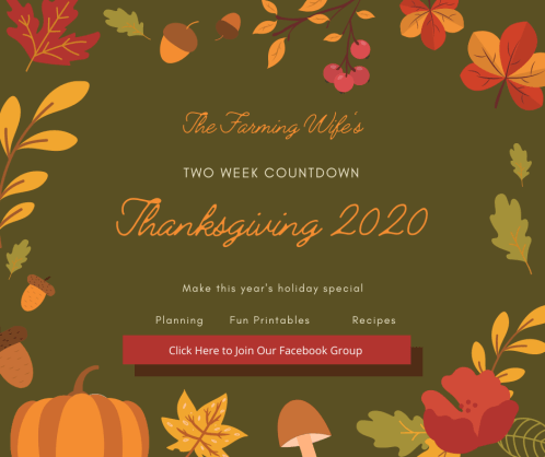 Thanksgiving Countdown 2020