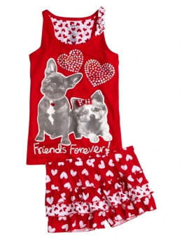 Valentines Day Pajamas For Kids
