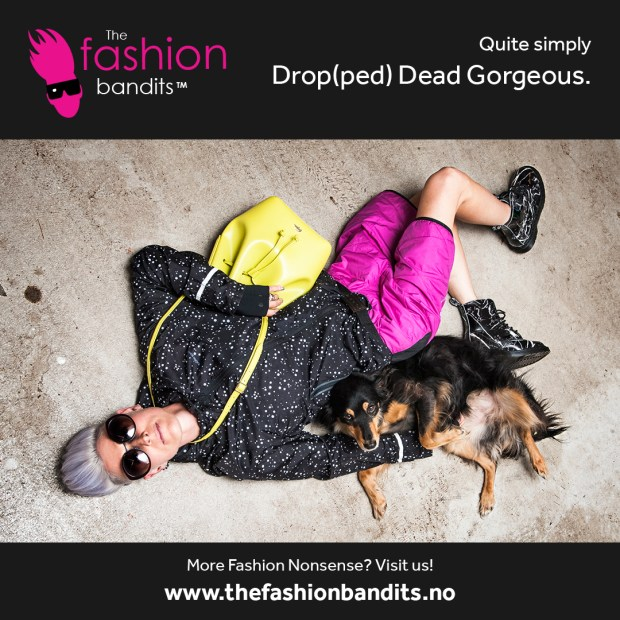 The Fashion Bandits Benedikte St.Pierre qlaims to be drop(ped) dead gorgeous