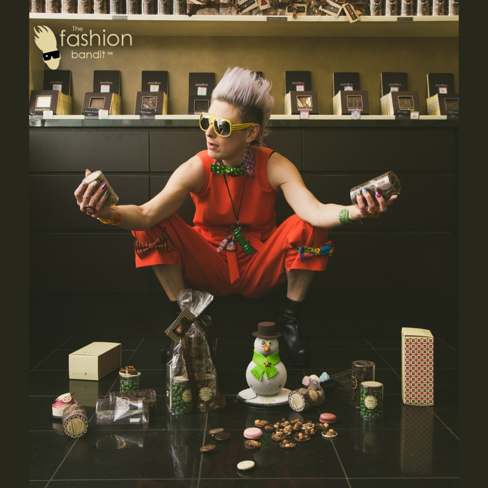 The Fashion Bandits Benedikte St.Pierre is indulging in luxurious chocolate