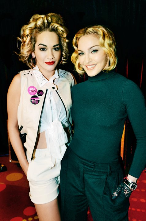 Rita Ora Is The New Face Of Material World By Madonna - Available At Myer's Miss Shop