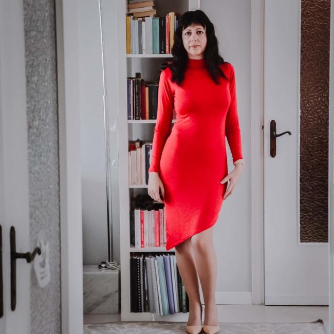 Come indossare un abito rosso - The Fashion Cherry Diary