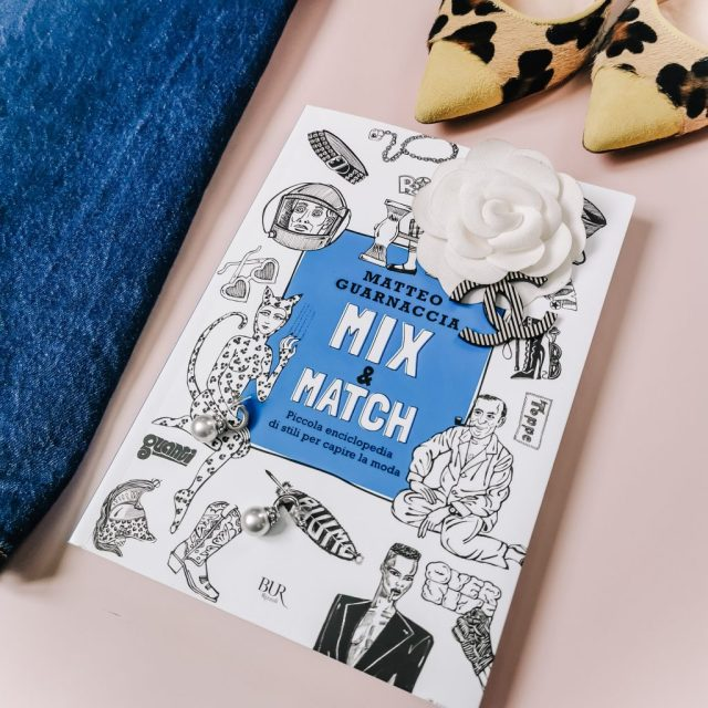La copertina del nuovo libro di Matteo Guarnaccia Mix & Match fatta da Isabella The Fashion Cherry Diary Qual è il significato dei vestiti che indossiamo