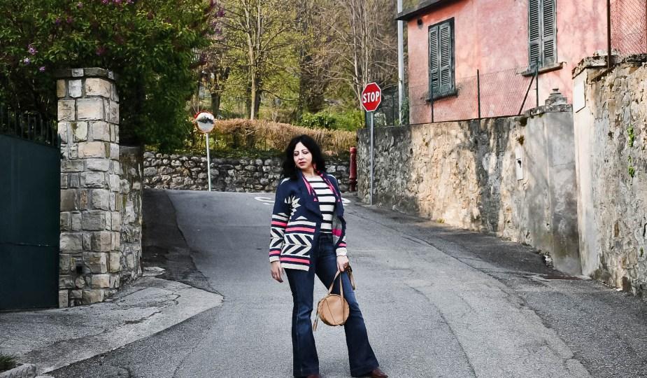 Come indossare il cardigan lungo con frange- The Fashion Cherry Diary