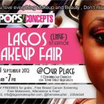 Lagos Makeup Fair is Tomorrow!