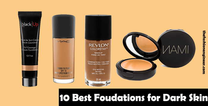 10 Best Foundations For Dark Skin Tones