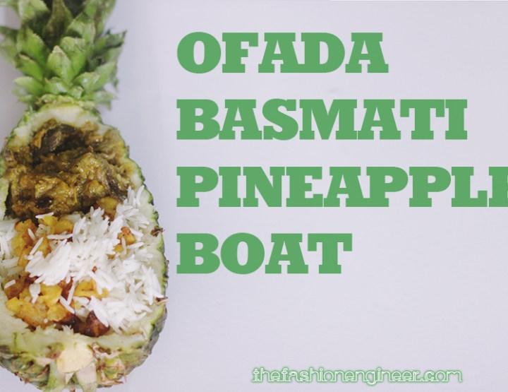 Ofada Basmati Pineapple Boat