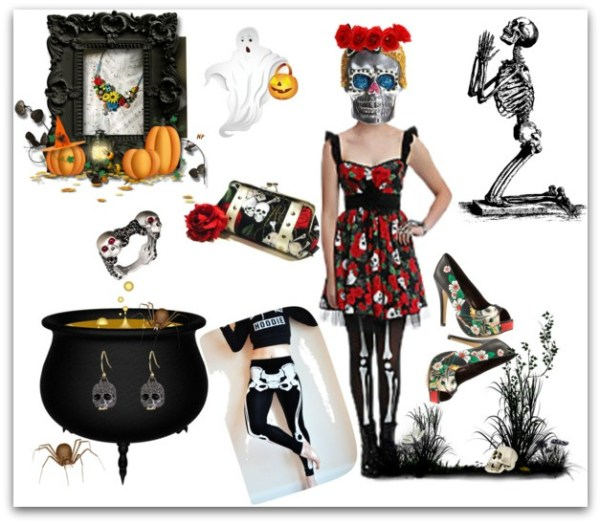 sugar skull halloween costumes