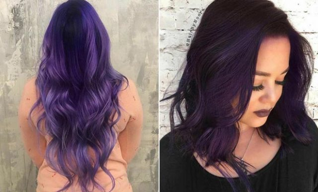 Purple hair is trending but why?