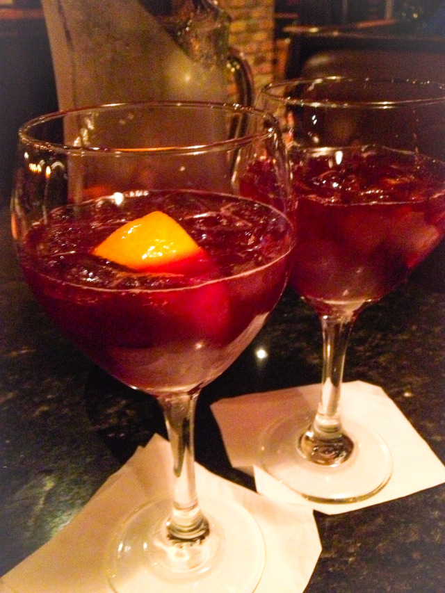 Sangria Ifratellis Restaurant Happy Hour