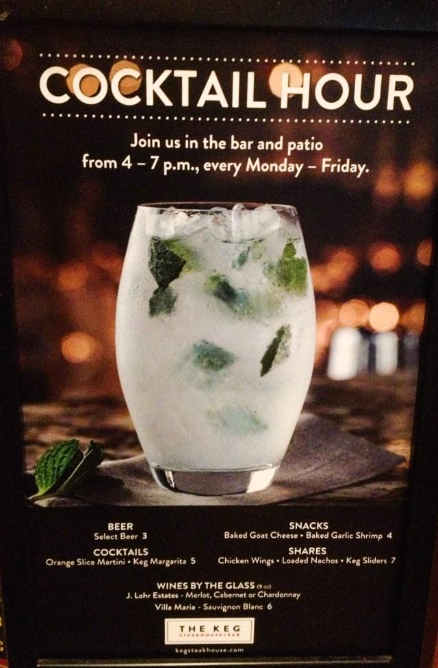 The Keg Las Colinas Cocktail Hour