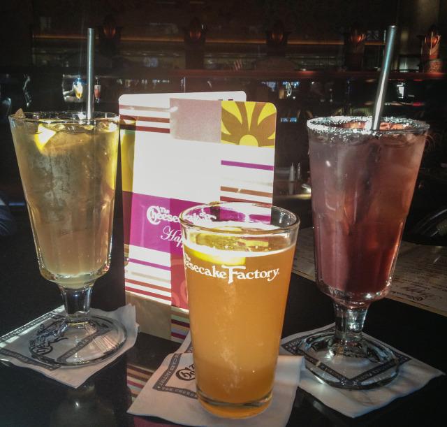 Long Island Iced Tea, Blue Moon, J.W.'s Pink Lemonade