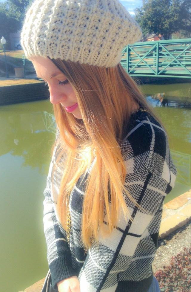 LOLA BCBG Beanie F21 Sweater 2