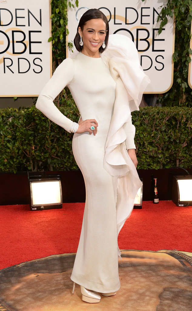 Paula Patton Golden Globes 2014