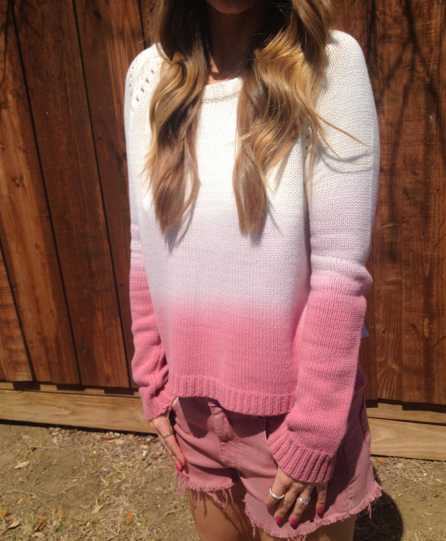 BB Dakota Ombre Sweater Flirt Dallas