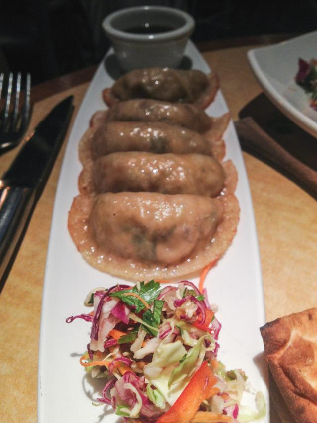 Kona Grill Happy Hour Potstickers