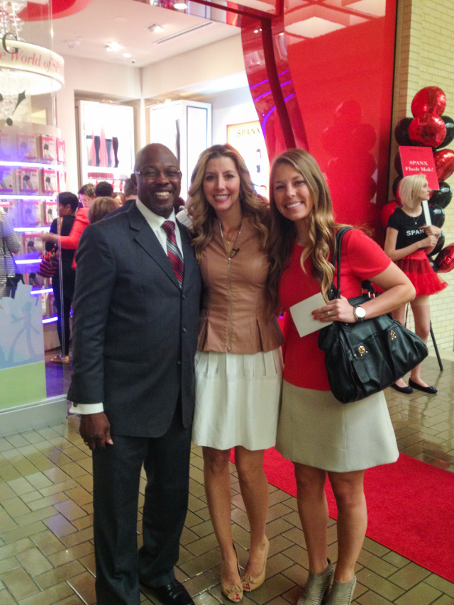 Dallas Mayor Pro Tem Tennell Atkins and Spanx Founder Sara Blakely