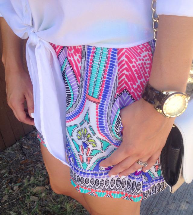 Katydid Collection Moroccan Shorts Blogger