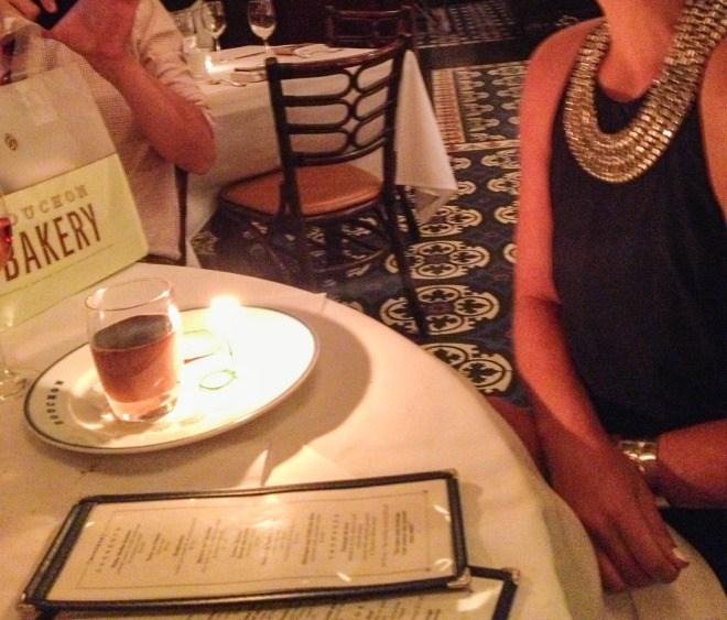 Bouchon Birthday Las Vegas