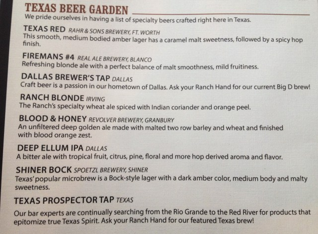Texas Beer Garden list Happy Hour Blog