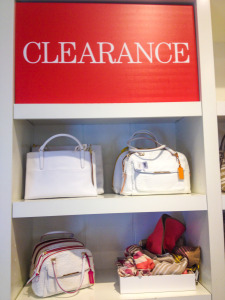 Coach Outlet Clearance