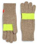 Hunter Neon Stripe Wool Gloves