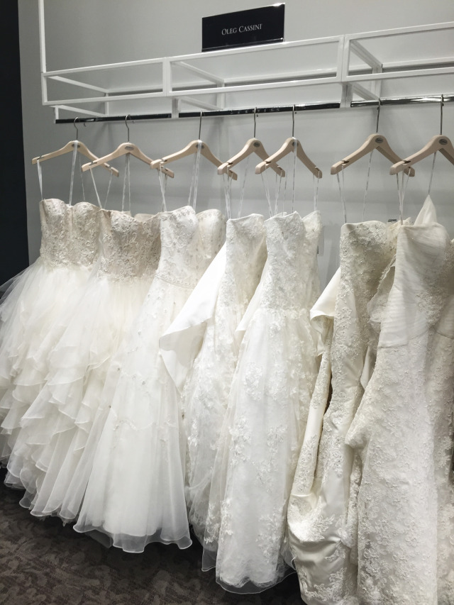 David's Bridal Oleg Cassini Dresses