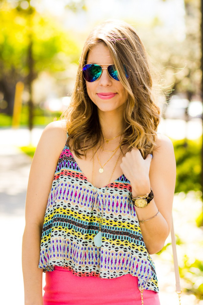 Bright Summer Crop Top