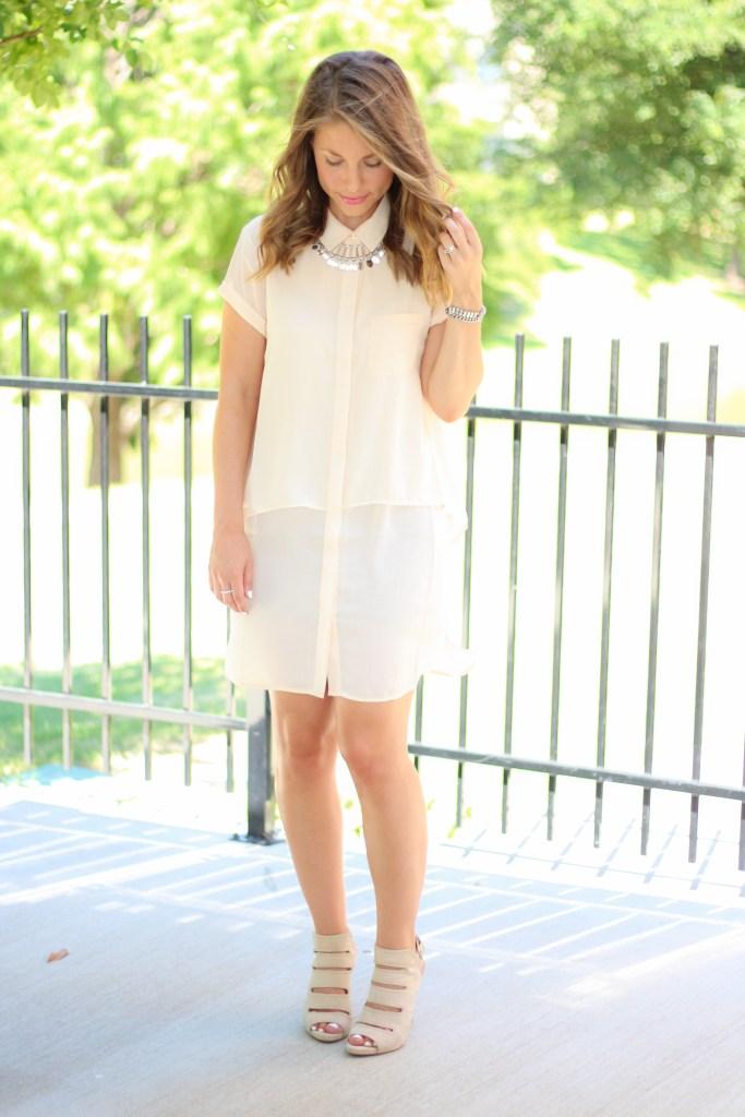 Button-up-shirt-dress