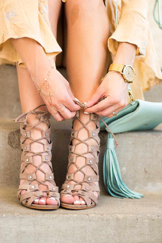 Lace up Dolce Vita Heels