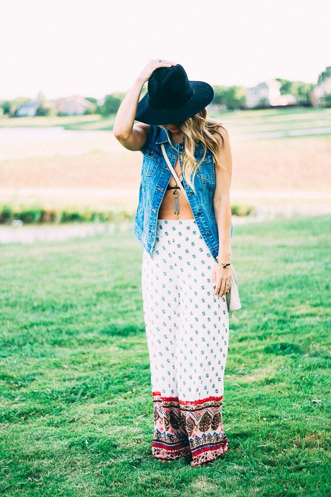 Bohemian Style Pants