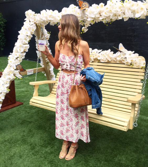 nordstrom floral print dress