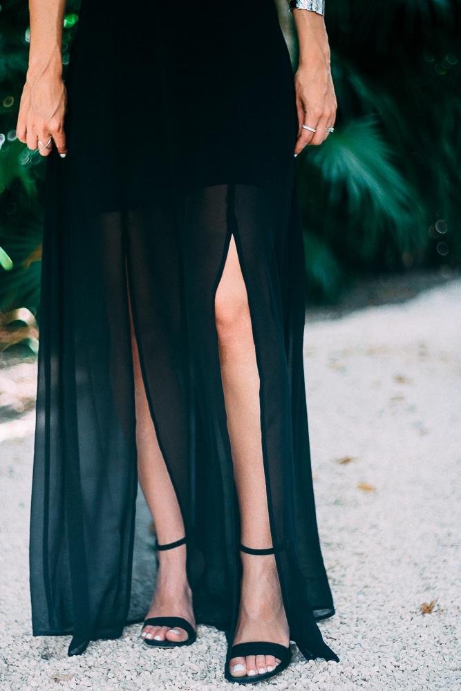 Express Black Sandals