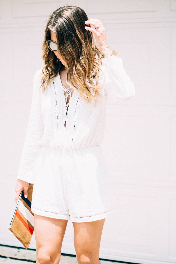 White-Lace-Up-Romper-1773
