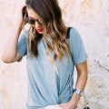 Knotted Tee Trend