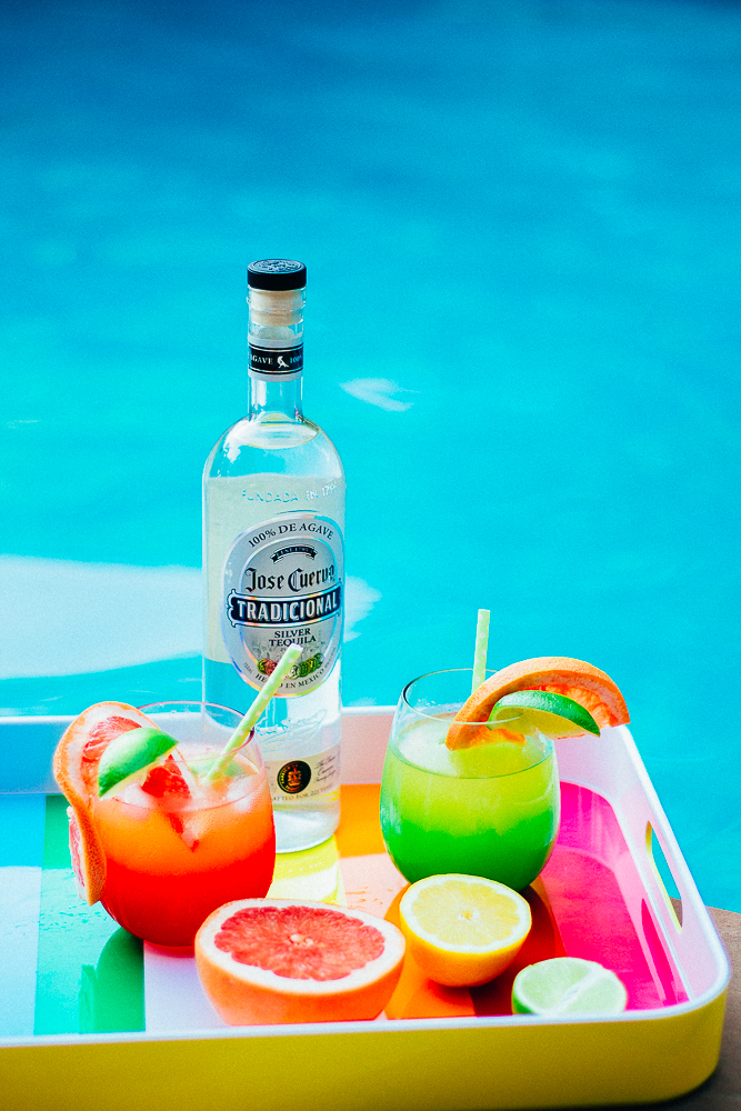 Paloma Cocktail by the pool