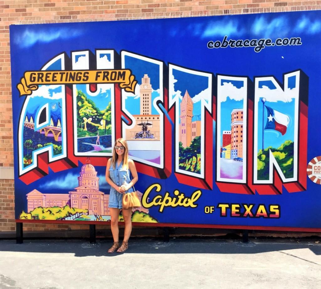 City of Austin Wall