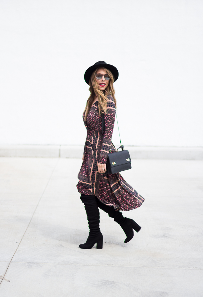 bcbgeneration long sleeve dress