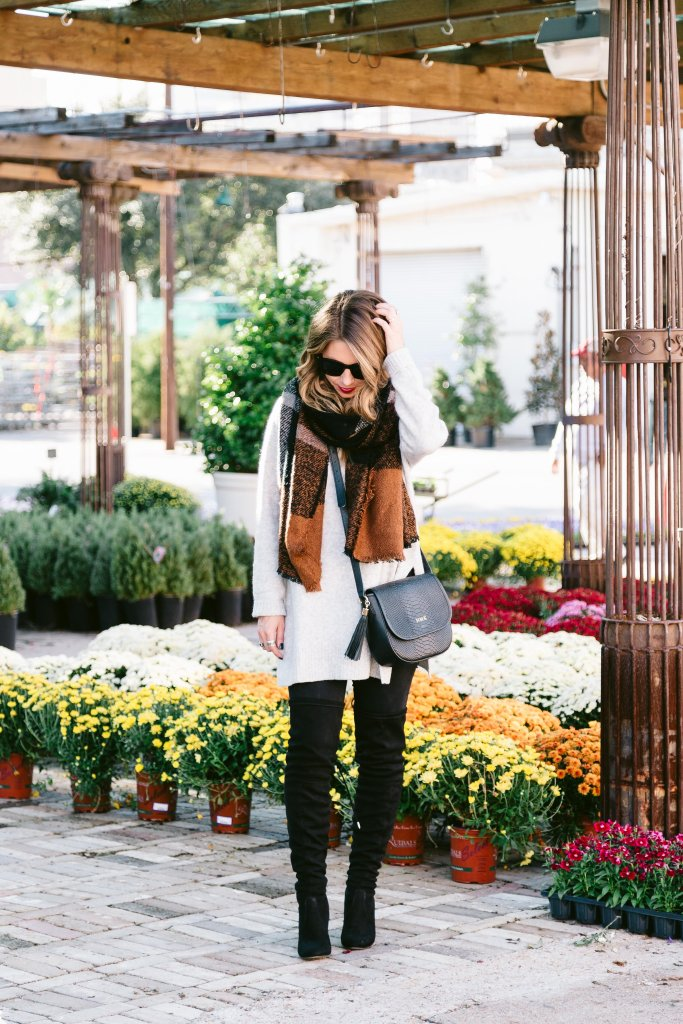 fall fashion boots and scarves