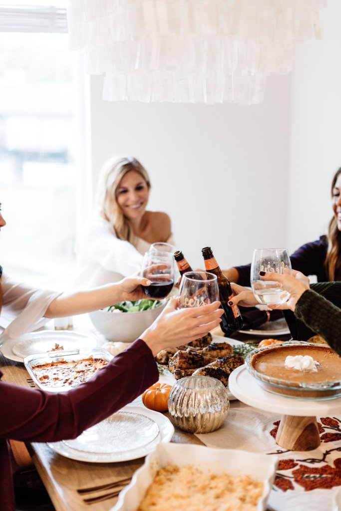 blogger friendsgiving