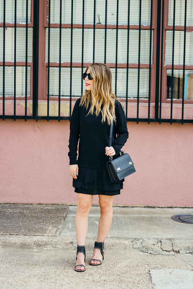 french connection long sleeve dress