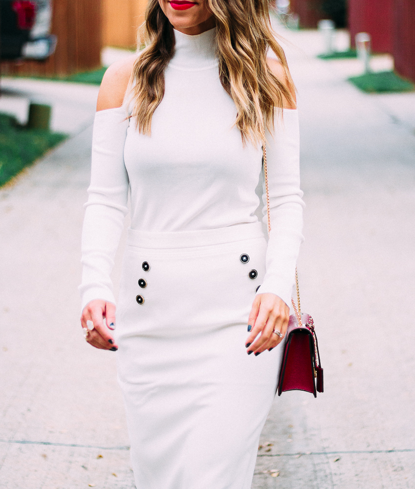 winter white fashion
