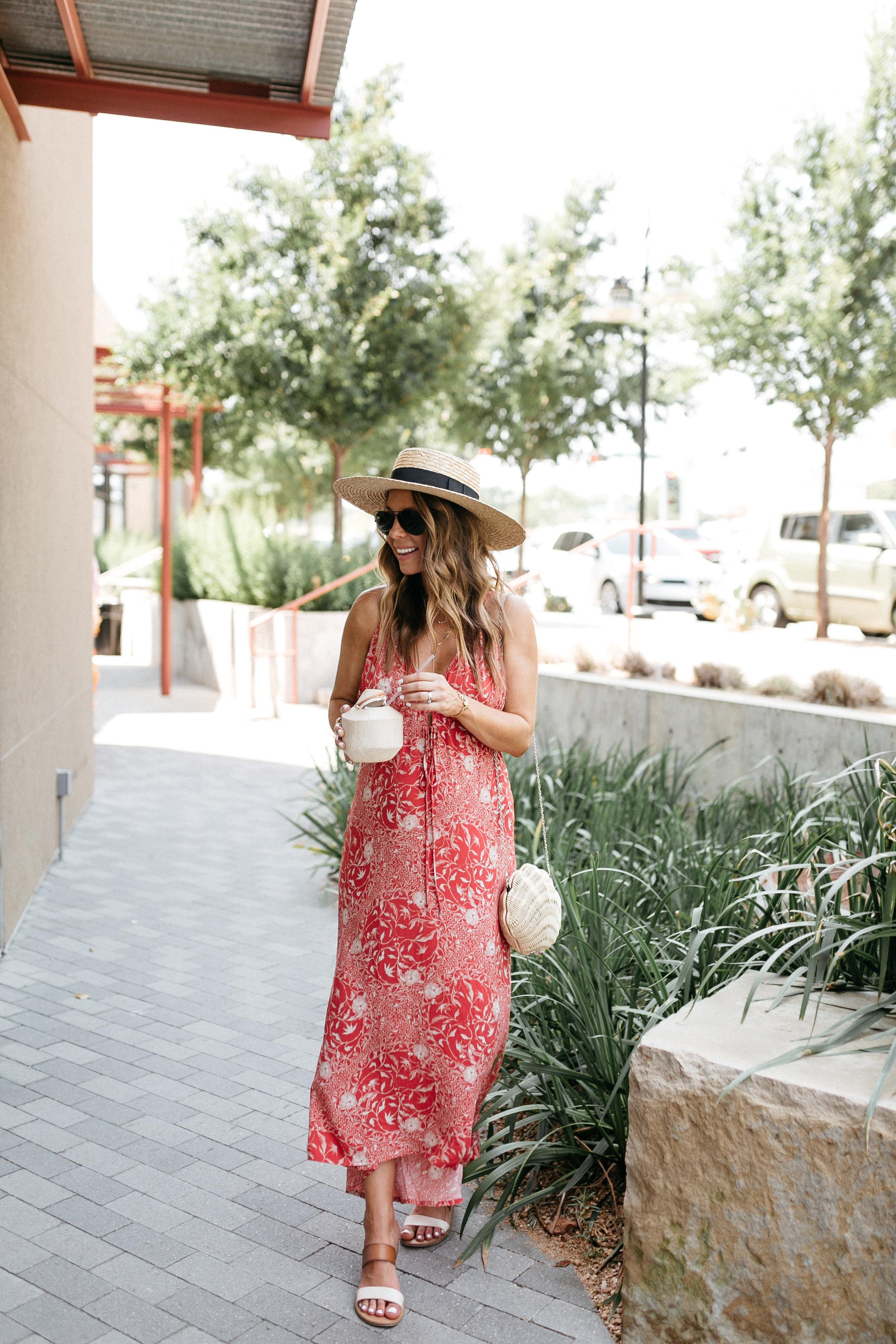 low back halter dress