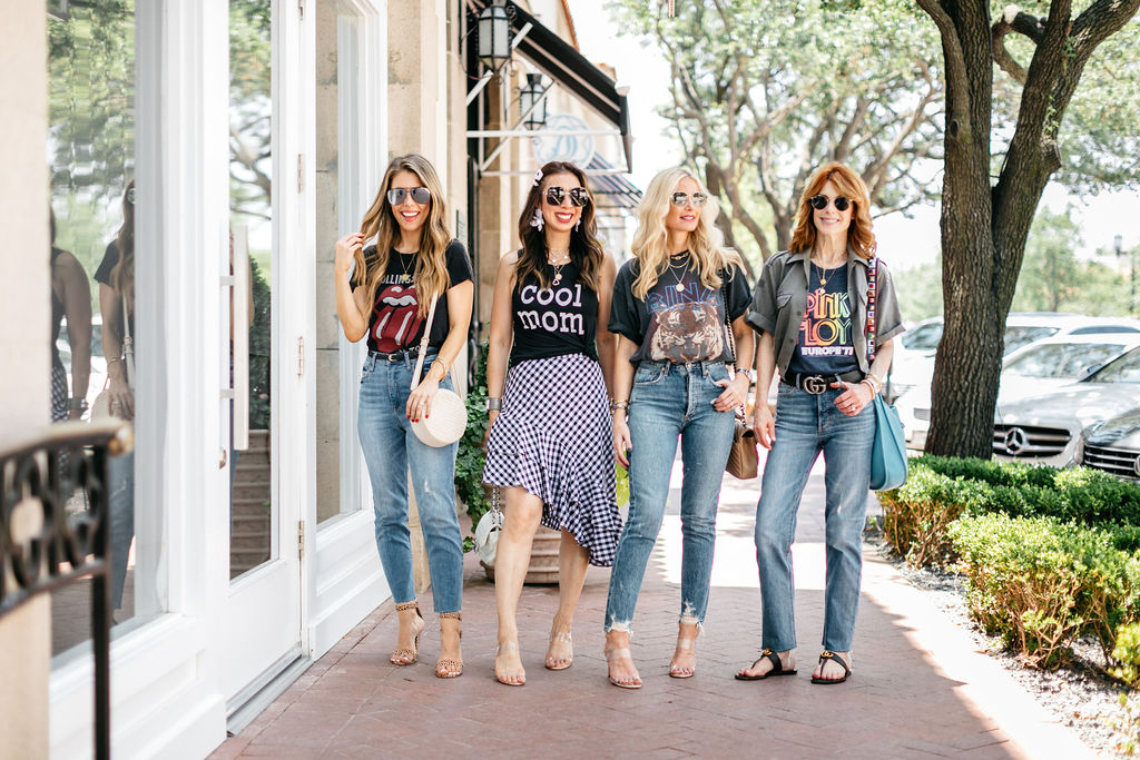 how to wear band tees chic at every age fashion bloggers