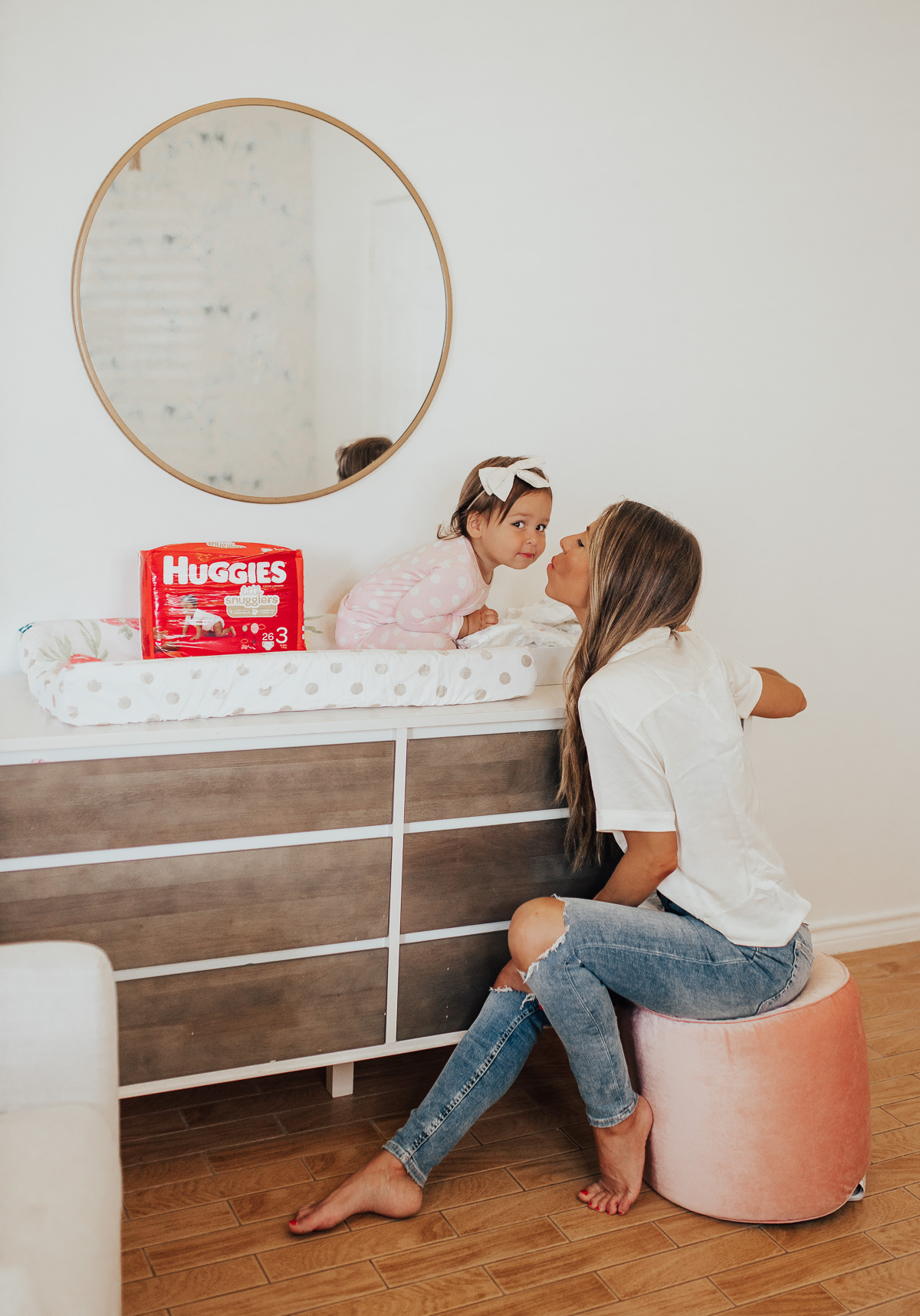 Huggies diapers mom blogger